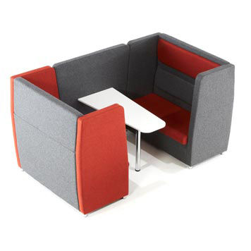 School Breakout Furniture - Just For Education - Breakout 4 Seater Cuddle Unit