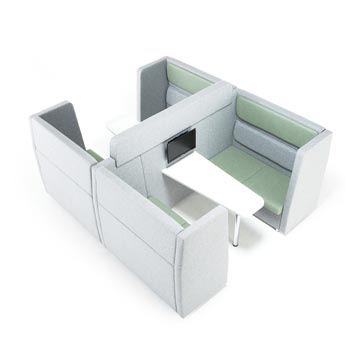 School Breakout Furniture - Just For Education - Breakout 8 Seater Cuddle Unit