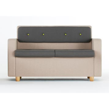 School Breakout Furniture - Just For Education - Breakout Cuddle Sofa