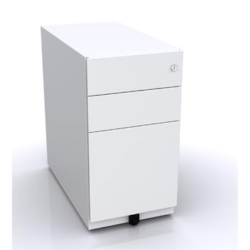 School Desking Storage and Tray Storage - Just For Education - Mobile Filing Drawer With Skid