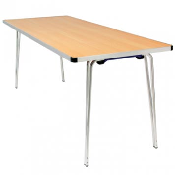 School Breakout Furniture - Just For Education - Wedge Chrome Dining Table