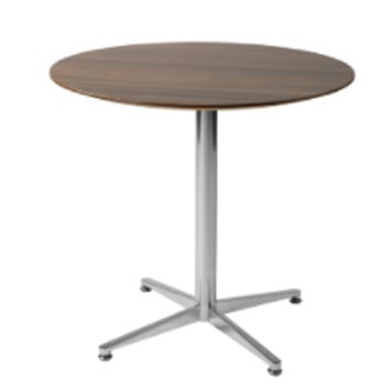 School Breakout Furniture - Just For Education - Stork Chrome Dining Table