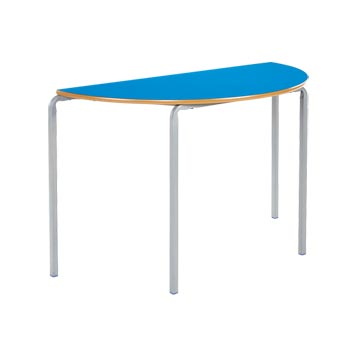 sale - Just For Education - Crush Bent School Classroom Semi Circular Table