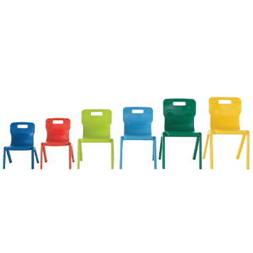 sale - Just For Education - Titan One Piece Classroom Chair