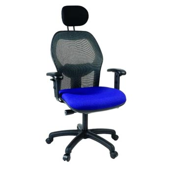 School Desking Storage and Tray Storage - Just For Education - Sola High Back Mesh Chair