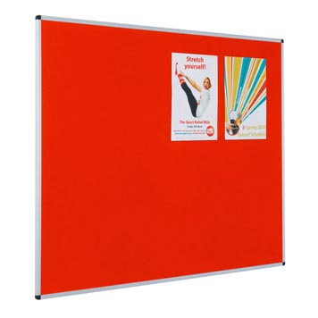 Just For Education - Metroplan Aluminium Framed Resist A Flame Noticeboard