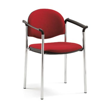 School Multipurpose Seating - Just For Education - Sentar Dove 4 Legged Upholstered Chair