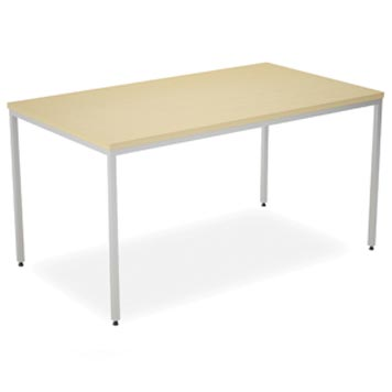School Multipurpose Tables and Chairs - Just For Education - Blue Jay Multi-purpose Rectangular Table With Circular Leg