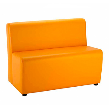 School Breakout Furniture - Just For Education - Jolly Notes Two Seater Sofa