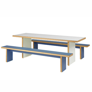 School Breakout Furniture - Just For Education - Refectory Flat Pack Bench